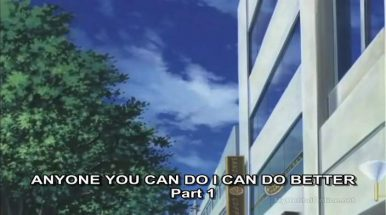 Anyone You Can Do I Can Do Better Episode 1 Subbed